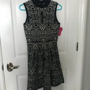 Black and white high neck dress NEW WITH TAGS!